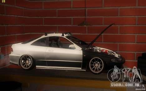 Honda Integra JDM para GTA San Andreas esquerda vista