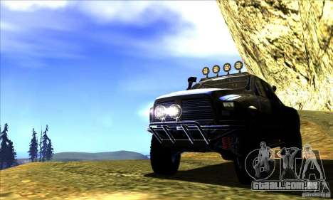 Dodge Ram All Terrain Carryer para GTA San Andreas