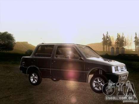 VAZ 1111 Oka Sedan para GTA San Andreas esquerda vista
