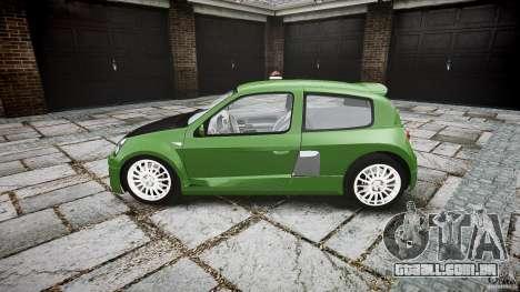 Renault Clio V6 para GTA 4 esquerda vista