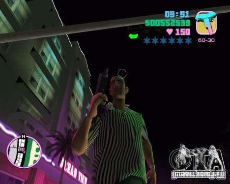 Pele de Tommy para GTA Vice City por diante tela