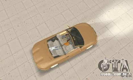 Chrysler Cabrio para GTA San Andreas vista direita
