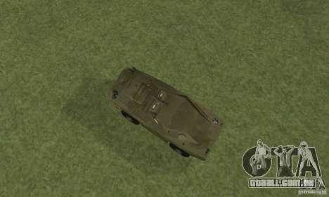 BRDM-1 pele 4 para GTA San Andreas vista traseira