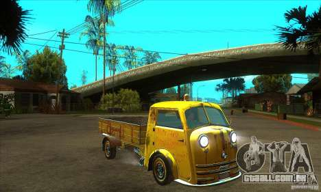 Tempo Matador 1952 Bus Barn version 1.1 para GTA San Andreas vista traseira
