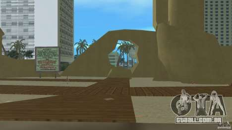 Vice City Beach-Park para GTA Vice City terceira tela