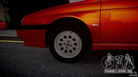 Alfa Romeo 155 Q4 1992 para GTA 4 vista direita