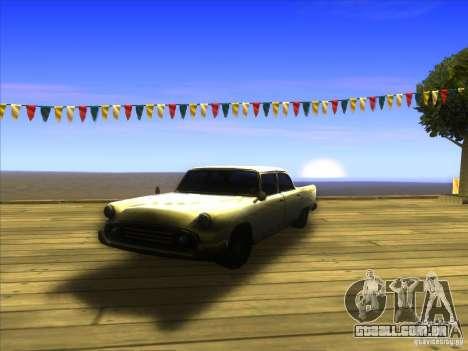 Glendale - Oceanic para GTA San Andreas vista interior