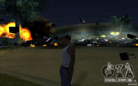 Desenho para GTA San Andreas segunda tela