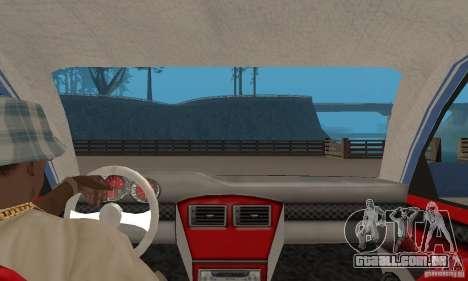 Toyota Carina 1996 para GTA San Andreas vista traseira