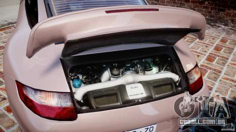 Porsche 911 (997) Turbo v1.0 para GTA 4 vista de volta
