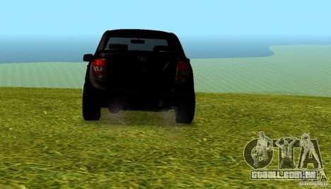 LADA Granta v 2.0 para GTA San Andreas vista direita