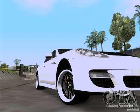 Porsche Panamera 970 Hamann para GTA San Andreas vista direita