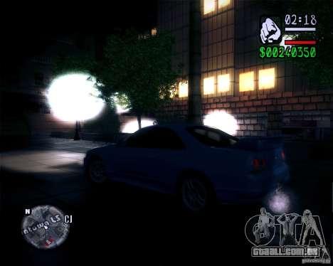 Novos gráficos do jogo 2011 para GTA San Andreas