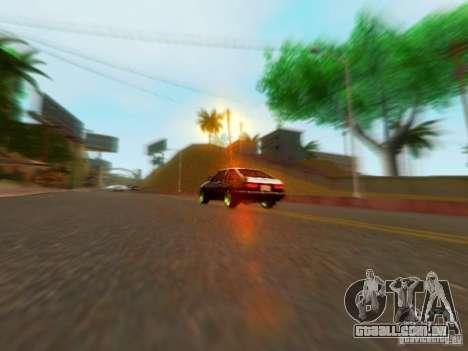 Toyota Corolla Carib AE86 para GTA San Andreas vista direita