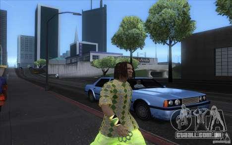 Rasta ped para GTA San Andreas por diante tela