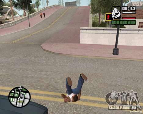 GTA 4 Anims for SAMP v2.0 para GTA San Andreas oitavo tela
