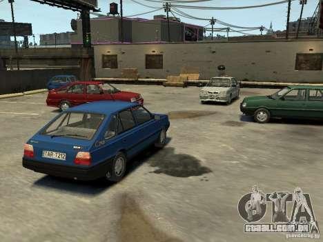 FSO Polonez Caro para GTA 4 vista inferior