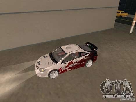 Chevrolet Cobalt Tuning para GTA San Andreas traseira esquerda vista