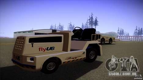 Air Tug from GTA IV para GTA San Andreas