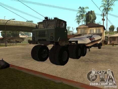 GAZ 66 Saiga para GTA San Andreas