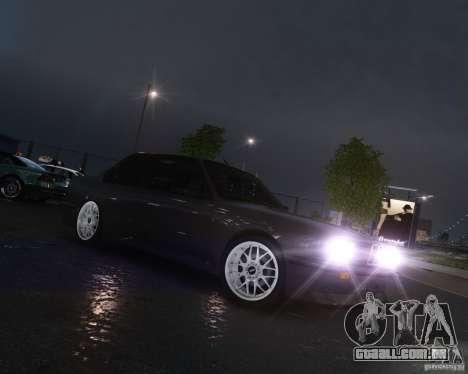 BMW M3 E30 para GTA 4 traseira esquerda vista