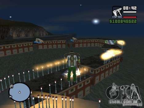Night moto track V.2 para GTA San Andreas