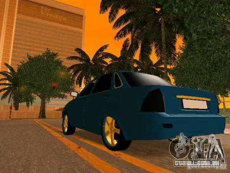 LADA 2170 Priora Gold Edition para o motor de GTA San Andreas