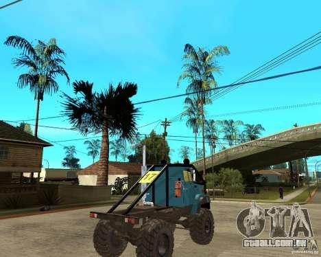 ZIL 4421 RALLY para GTA San Andreas