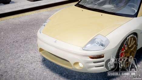 Mitsubishi Eclipse GTS Coupe para GTA 4 vista lateral