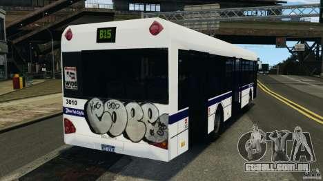 Solaris Urbino 12 MTA para GTA 4 traseira esquerda vista