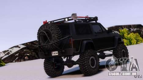 Jeep Cheeroke SE v1.1 para GTA 4 esquerda vista
