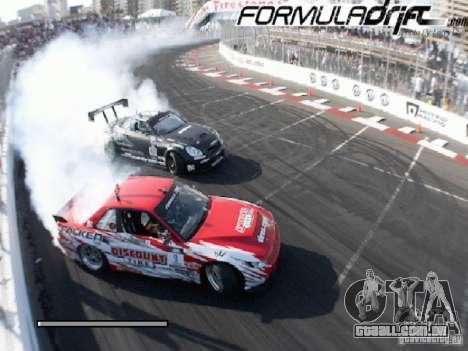 Telas de carregamento Formula Drift para GTA San Andreas sexta tela