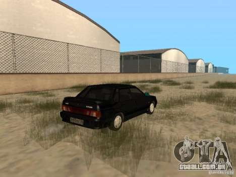 Vaz 2115 Tun luz v. 1.1 para GTA San Andreas