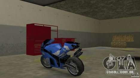 Yamaha YZF R1 para GTA Vice City vista traseira esquerda