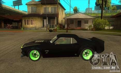 Ford Mustang RTR-X 1969 para GTA San Andreas vista direita