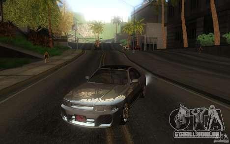 Nissan Skyline R33 GTS25t Stock para GTA San Andreas vista traseira