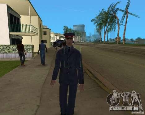 POLICIAL russo para GTA Vice City terceira tela