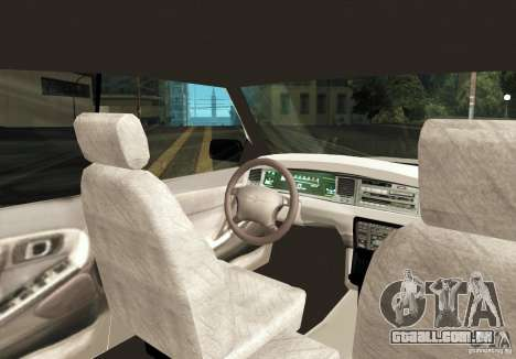 Toyota Crown S130 para GTA San Andreas vista direita