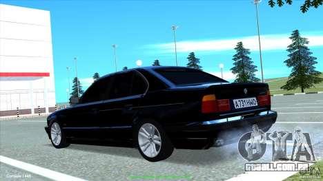 BMW E34 V1.0 para GTA San Andreas vista interior