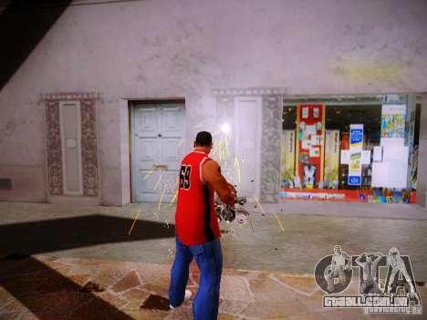Novos efeitos para GTA San Andreas quinto tela