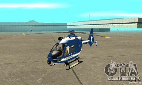 EC-135 Gendarmerie para GTA San Andreas esquerda vista