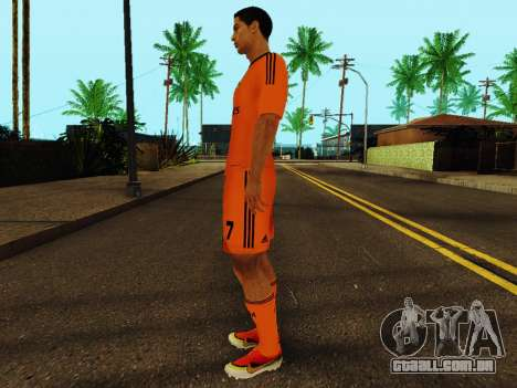 Cristiano Ronaldo v3 para GTA San Andreas terceira tela