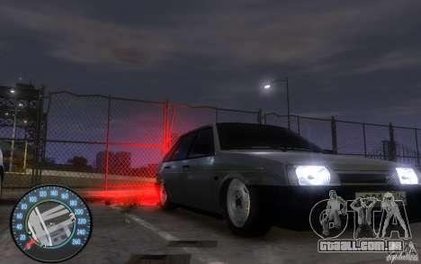 2109 VAZ Daguestão tuning para GTA 4 traseira esquerda vista