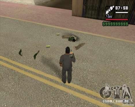 Real Ragdoll Mod Update 2011.09.15 para GTA San Andreas terceira tela