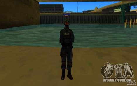 HQ skin S.W.A.T para GTA San Andreas terceira tela