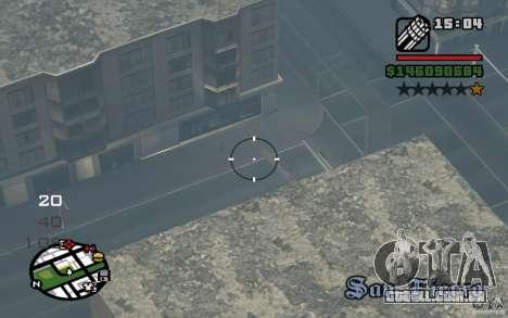 AC-130 Spectre para GTA San Andreas vista direita