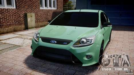 Ford Focus RS para GTA 4