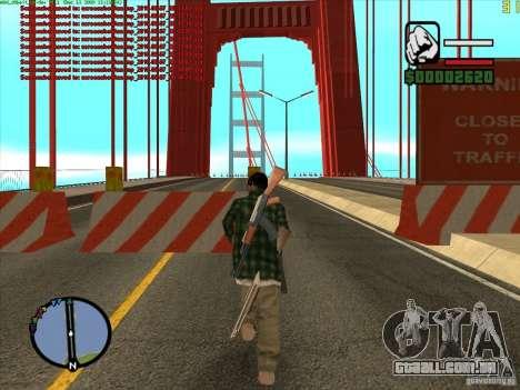 Ponte Takomskij (Tacoma Narrows Bridge) para GTA San Andreas segunda tela