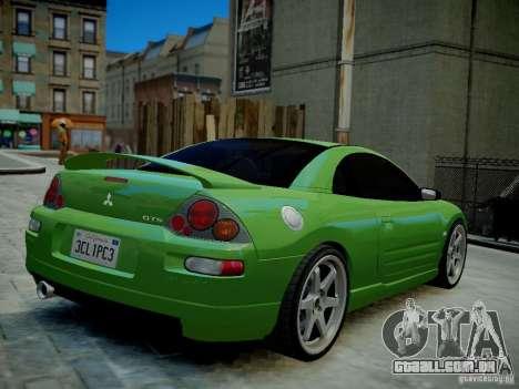 Mitsubishi Eclipse GT-S v1.0 para GTA 4 vista direita