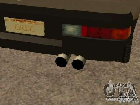 Fiat Ritmo para o motor de GTA San Andreas